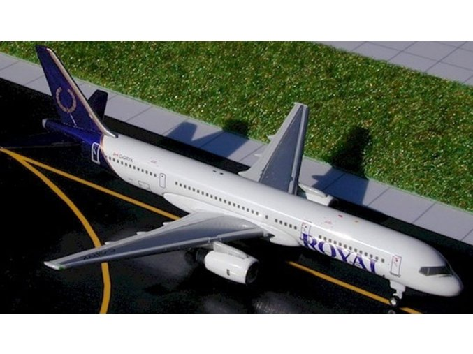 Gemini - Boeing B757-236, dopravce Royal Aviation, USA, 1/400