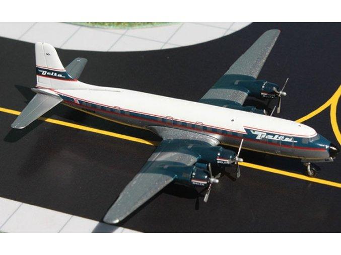 Gemini - Douglas DC-6, dopravce Delta Air Lines, USA, 1/400