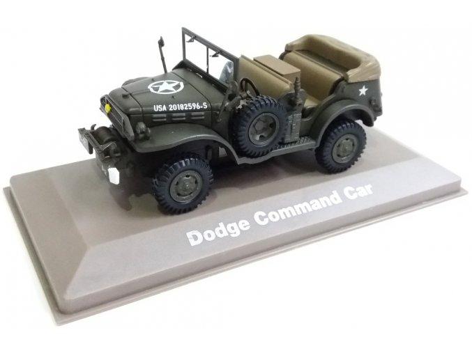 Atlas Models - Dodge WC 56, US Army, velitelský vůz, 1/43