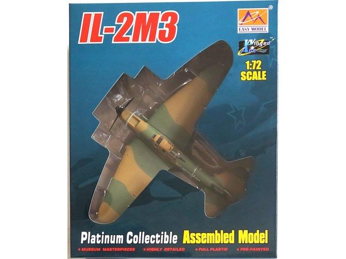 """Easy Model - Iljušin Il-2M3 Šturmovik, """"Bílá 1"""", sovětské letectvo, 1/72"""