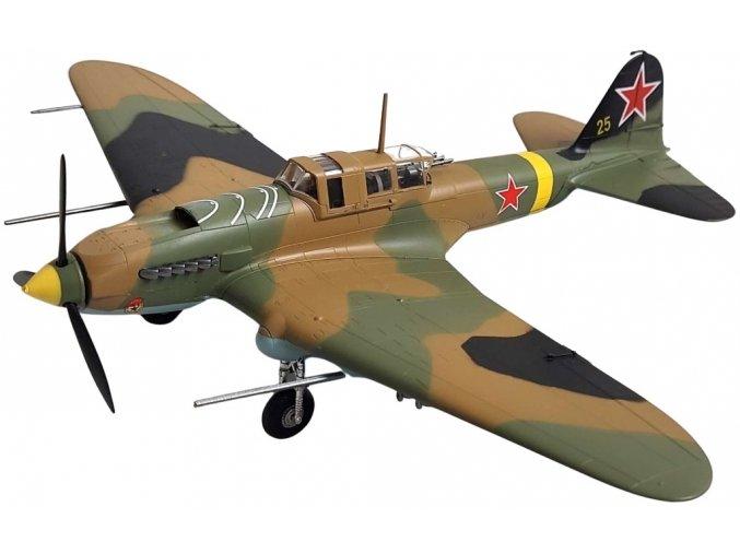 """Easy Model - Iljušin Il-2M3 Šturmovik, """"Žlutá 25"""", sovětské letectvo, 1/72"""