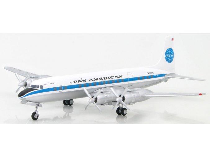 "Hobbymaster - Douglas DC-7, Pan American World Airways, ""Clipper Flora Temple"" 1950, 1/200"