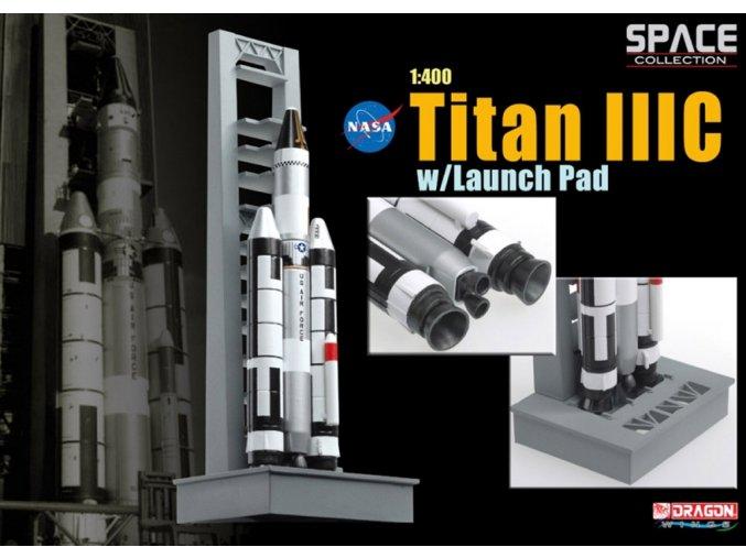 Dragon - raketa Titan IIIC, 1/400