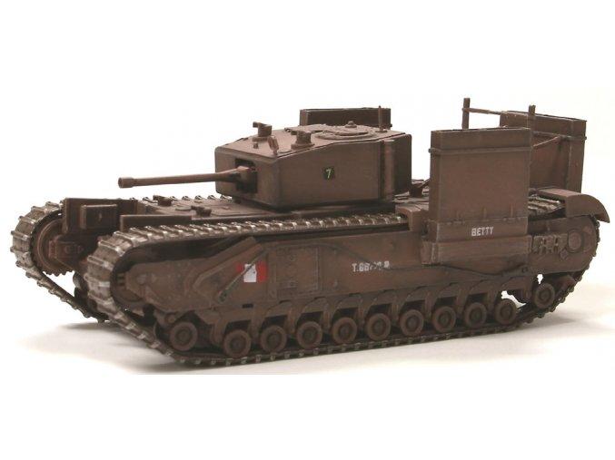 Dragon Armor - Churchill Mk.III, operace Jubilee, Dieppe, 1942, 1/72