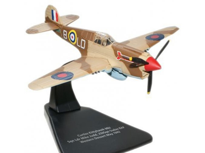 Oxford - Curtiss P-40 KittyHawk, 250. squadrona RAF, Sudan, 1942, 1/72