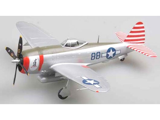 Easy Model - Republic P-47D Thunderbolt, USAAF, 527.FS, 1/48