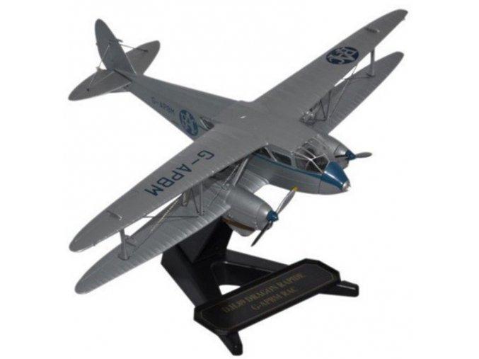 Oxford - de Havilland Dragon Rapide, Royal Automobile Club Aerial Patrol, 1/72