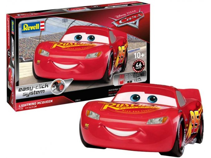 revell lightning mcqueen cars 3 easyclick 07813 1 25. Black Bedroom Furniture Sets. Home Design Ideas