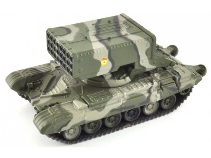 Altaya - raketový systém TOS-1, ruská armáda, 1/72