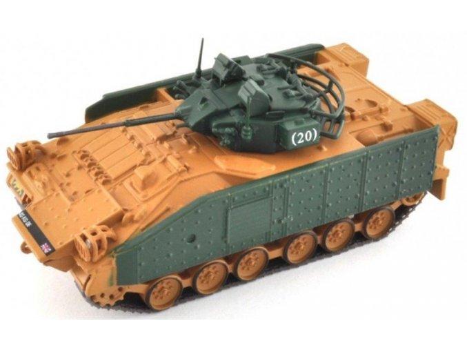 Altaya - MCV 80 Warrior, britská armáda, 1/72