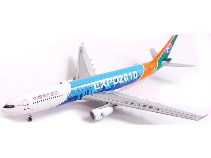Dragon - Airbus A330-300, společnost China Eastern Airlines, Expo 2010 logo, Čína, 1/400
