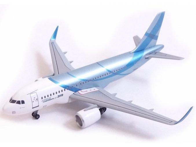 Dragon - Airbus A319, společnost Airbus Industries, Francie, 1/400