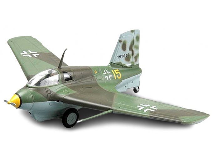 "Easy Model - Messerschmitt Me-163 B-1a Komet, Luftwaffe, JG400, ""žlutá 15"", 1/72"