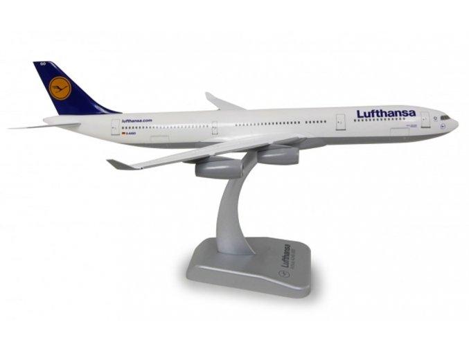 Limox - Airbus A340-313X, společnost Lufthansa, Německo, 1990's colors, 1/200