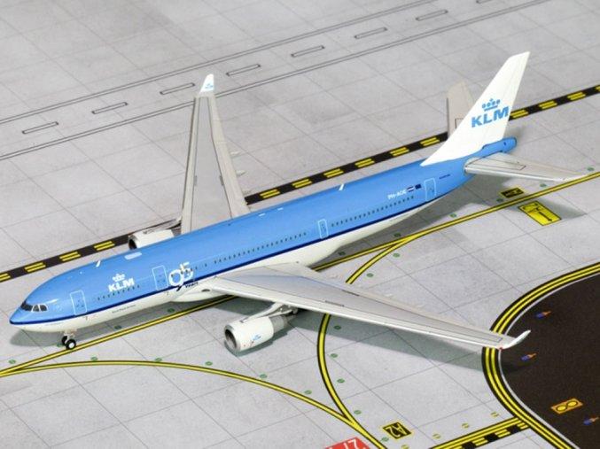 Gemini - Airbus A330-203, společnost KLM Royal Dutch Airlines, Nizozemí, 1/400