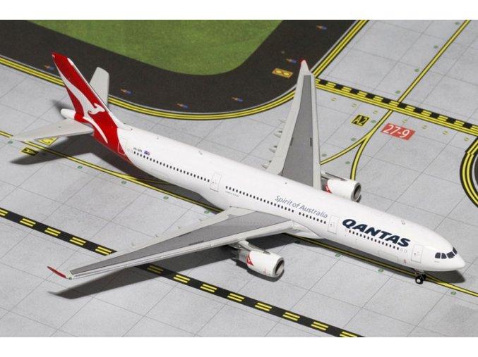 Gemini - Airbus A330-303, společnost Qantas Airways, Austrálie, 1/400
