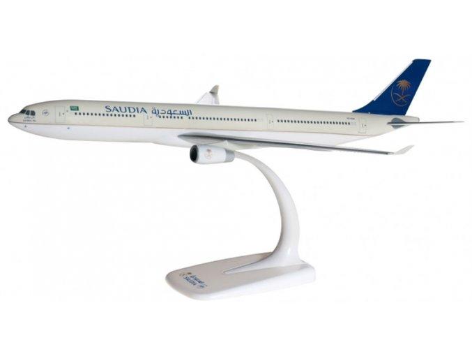 Herpa - Airbus A330-343X, společnost Saudi Arabian Airlines, Saudská Arábie, 1/200