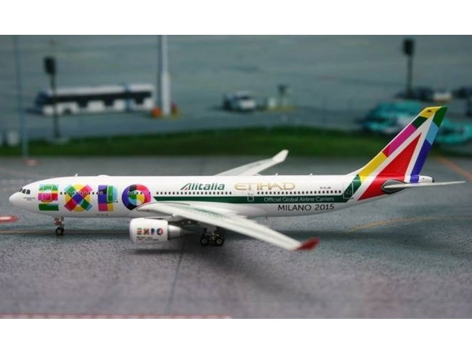 Phoenix - Airbus A330-202, společnost Alitalia, Itálie, EXPO Milano 2015, 1/400
