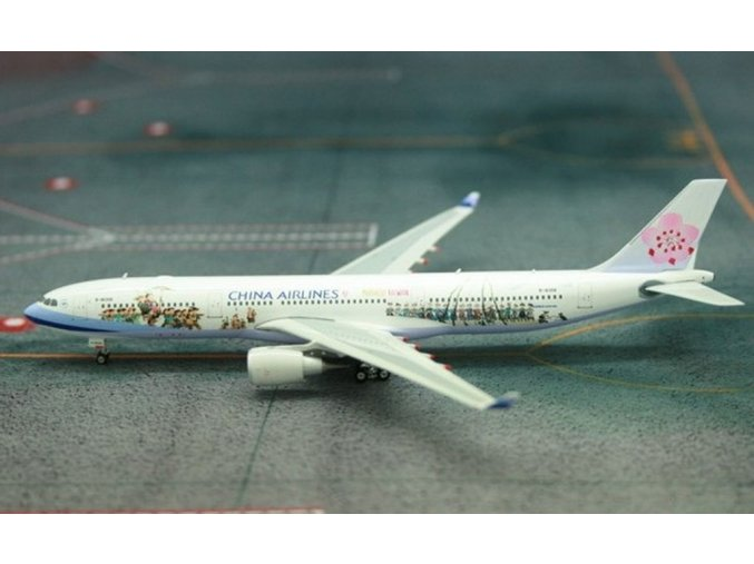 Phoenix - Airbus A330-302, společnost China Airlines, Taiwan, 1/400