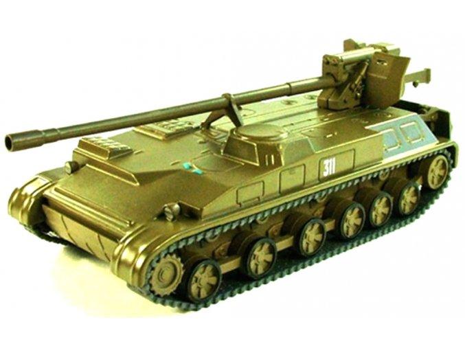 Altaya - 2S5 Giatsint-S, samohybné dělo 152mm, 1/72