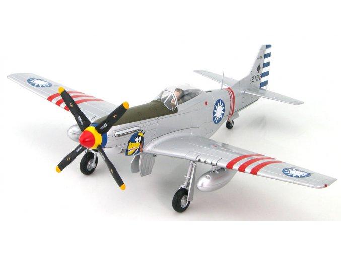HobbyMaster - P-51D Mustang, ROCAF 4th FG, Taiwan, 1949, 1/48