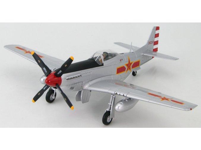 HobbyMaster - P-51D Mustang, PLAAF 1st Sqn, #3032, China, 1949, 1/48