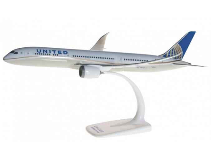Herpa - Boeing B787-9, společnost United Airlines, USA, 1/200