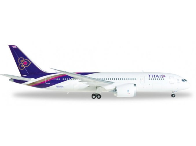 Herpa - Boeing B787-8, společnost Thai Airways International, Thajsko, 1/200