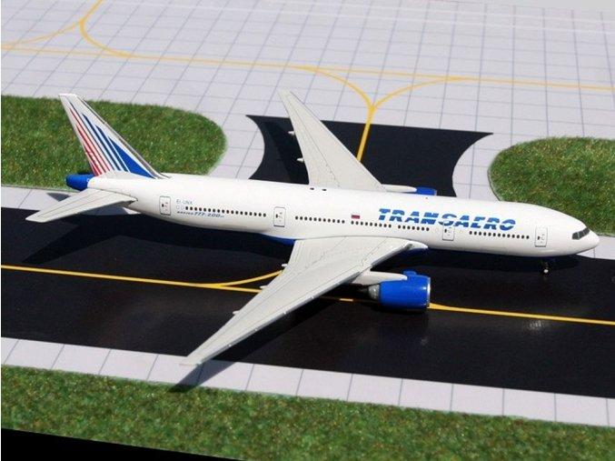 Gemini - Boeing B777-222/ER, dopravce Transaero Airlines, Rusko, 1/400