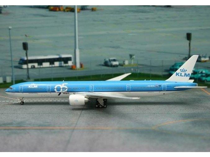 Phoenix - Boeing  B777-306ER, dopravce KLM Royal Dutch Airlines, Nizozemí, výroční zbarvení, 1/400