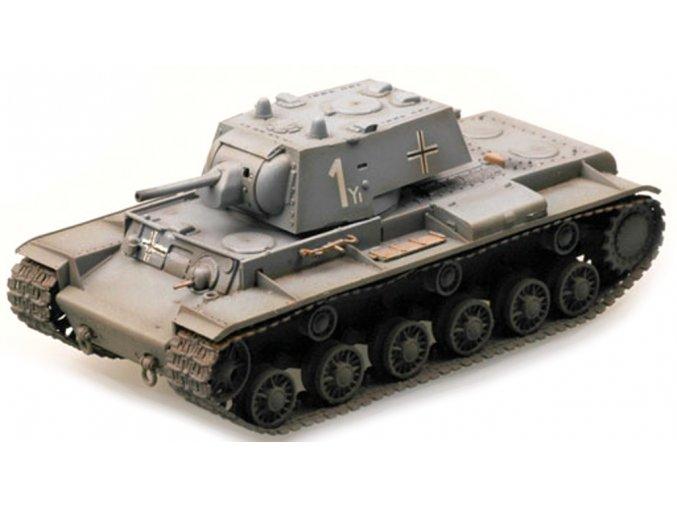 Easy Model - KV-1 kořistní varianta Pz.Kpfw.756, Wehrmacht, 1/72