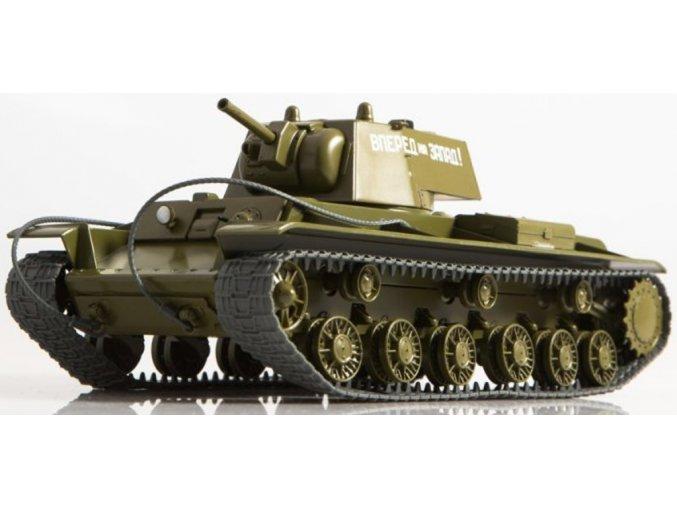 Russian Tanks - KV-8, sovětská armáda, 1/43
