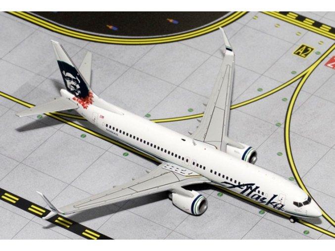 Gemini - Boeing B 737-890WL, dopravce Alaska Airlines, USA, 1/400