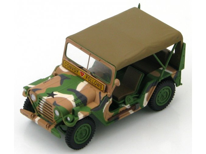 "HobbyMaster - M151A2 MUTT, US Army, 3rd Armored Div., ""Convoy Follows"", 1/48"