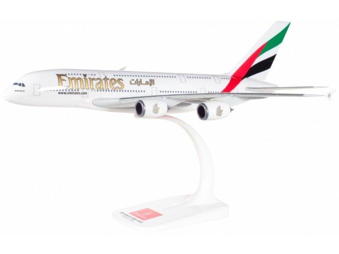 Herpa - Airbus A380-800, společnost Emirates, 2020 Dubai UAE Expo logo, Spojené Arabské Emiráty, 1/250