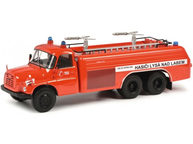 Schuco - Tatra 148, hasiči Lysá nad Labem, 1/43, SLEVA 21%