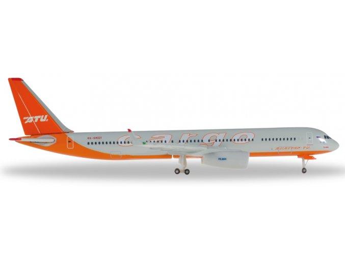 Herpa - Tupolev Tu-204C, společnost Aviastar-TU Cargo, Rusko, 1/500