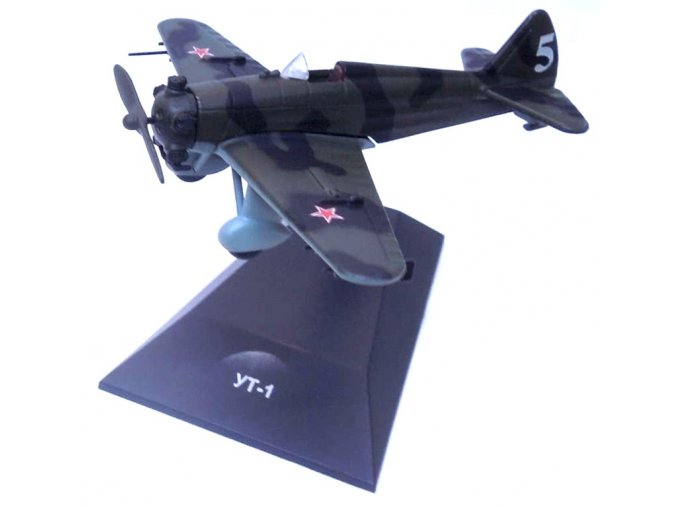 Altaya - Yakovlev UT-1, sovětské letectvo, 1/80, SLEVA 46%
