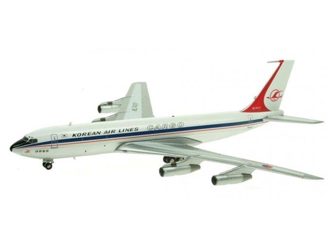 Inflight200 - Boeing B707-321C, dopravce Korean Air Cargo, Jižní Korea, 1/200