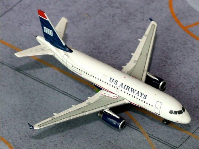 Gemini - Airbus A319-132, společnost US Airways, USA, 1/400
