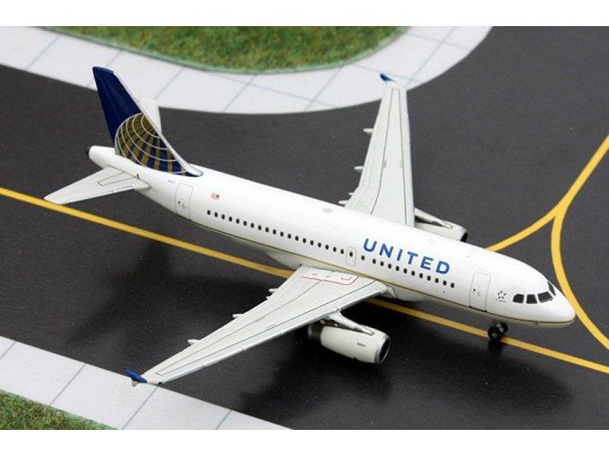Gemini - Airbus A319-131, společnost United Airlines, USA, 1/400