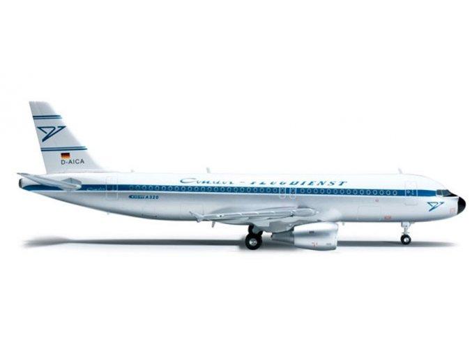 Herpa - Airbus A320-214, společnost Condor Berlin, Německo, 1/200