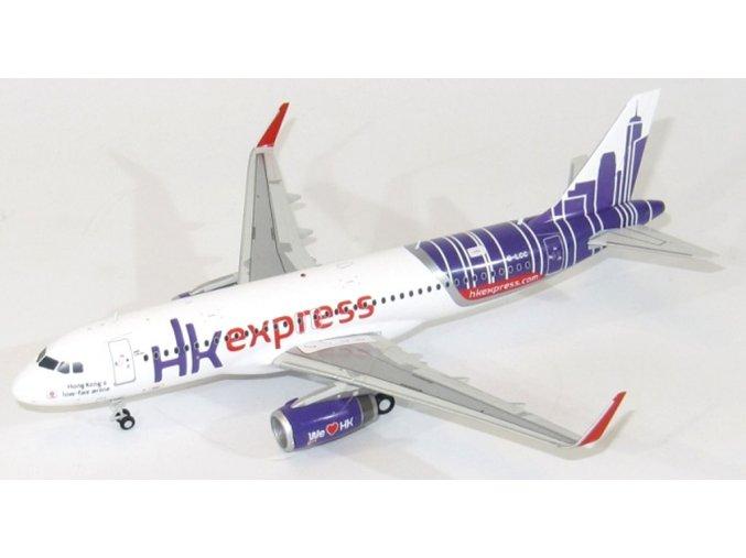 JC Wings - Airbus A320-232, společnost Hong Kong Express, Hong Kong, 1/200