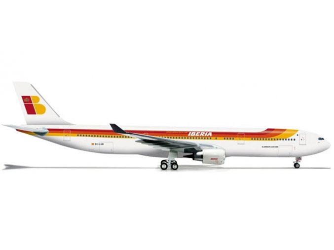 Herpa - Airbus A330-302, společnost Iberia, Španělsko, 1/200