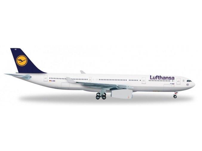 Herpa - Airbus A330-343X, společnost Lufthansa, Německo, 1/200