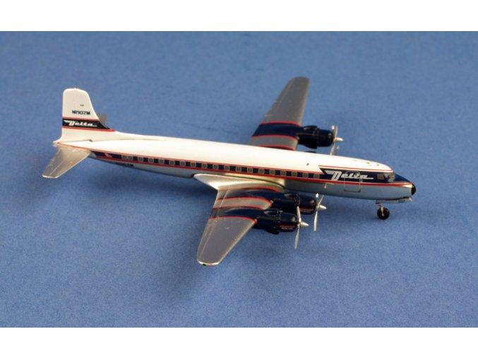 Aero Classics - Douglas DC6, dopravce Delta Airlines, USA, 1/400