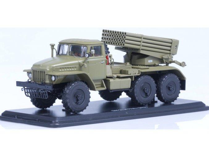 """Start Scale Models - BM-21 """"Grad"""" (URAL-375), 1/43, SLEVA 26%"""