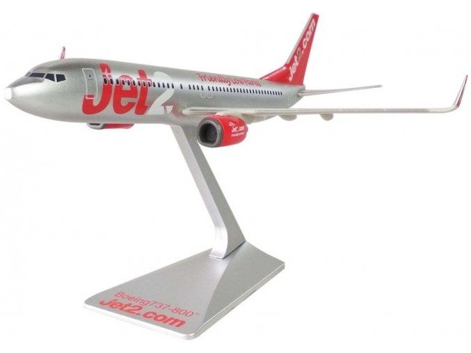 "Premier Planes - Boeing B737-800, společnost Jet2, ""2000s"" colors, with ""Friendly Low Fares"", Velká Británie, 1/200"