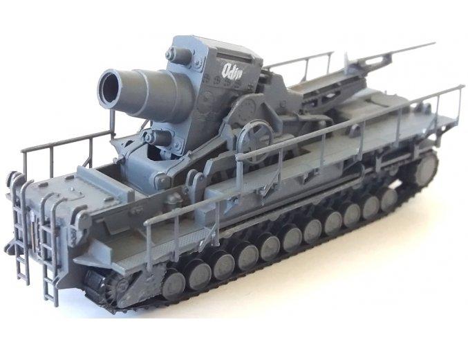 Easy Model - moždíř Karl-Gerät ''Odin'', ráže 60 cm, 1/144