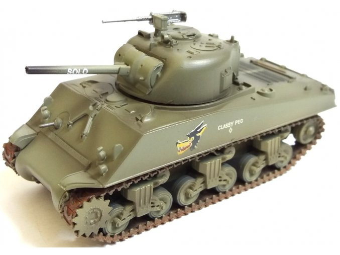 "Easy Model - M4A3 Sherman, US Army, 716th Tank Btn., ""Classy Peg"", Filipíny, 1945, 1/72"